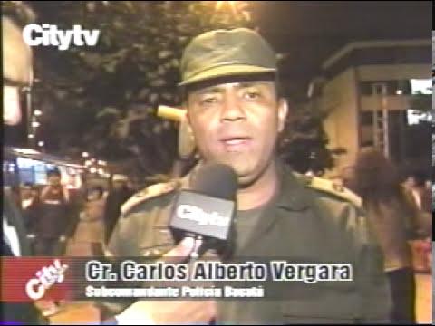 Inseguridad en la Avenida 19 con carreras 4 y 10 Bogotá