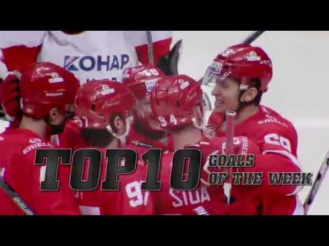 KHL Top 10 Goals for Week 12