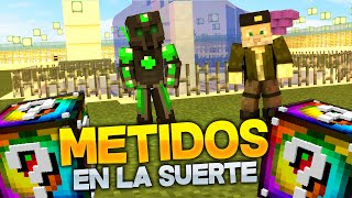 METIDOS EN LA SUERTE!! - Willyrex vs sTaXx - Carrera épica Lucky Blocks