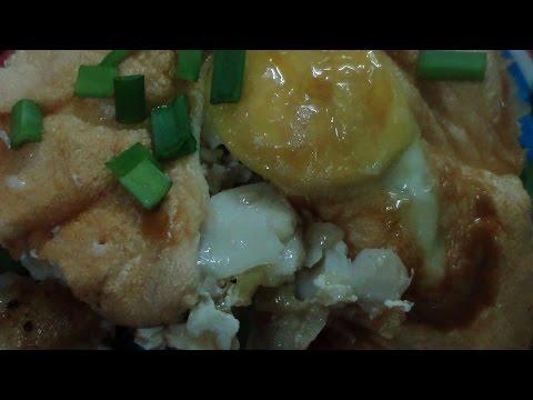 Вкусно и оригинально! Рыба запеченная под яйцом