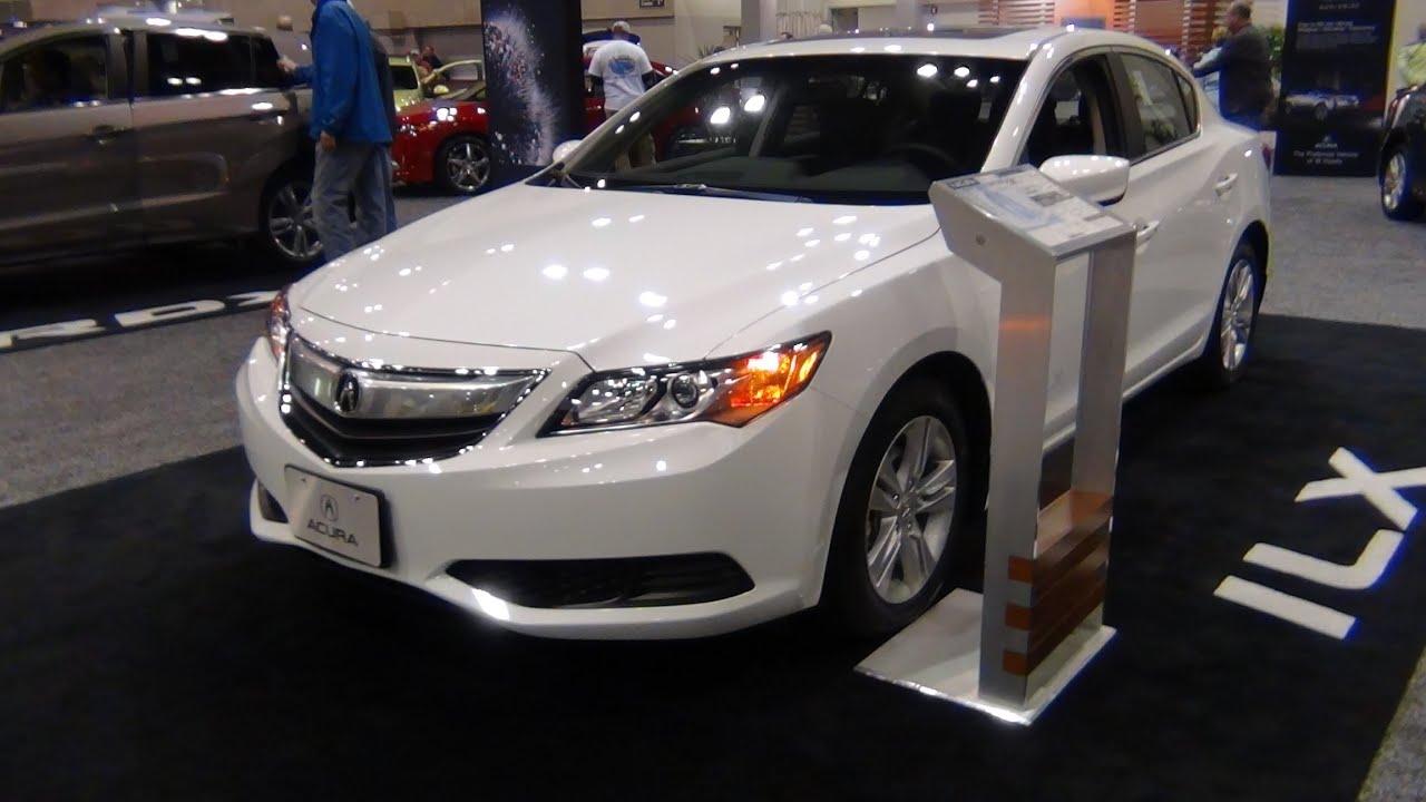 2013 Acura ILX 2.0L Base Quick Tour - YouTube