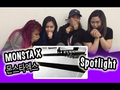 MV REACTION MONSTA X- SPOTLIGHT