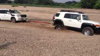 Landcruiser200&FJcruiser Off-road driving @K川