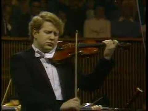 Shlomo Mintz: Mendelssohn Violin Concerto Mvt.2