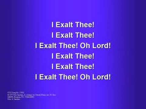 Traditional - We Exalt Thee