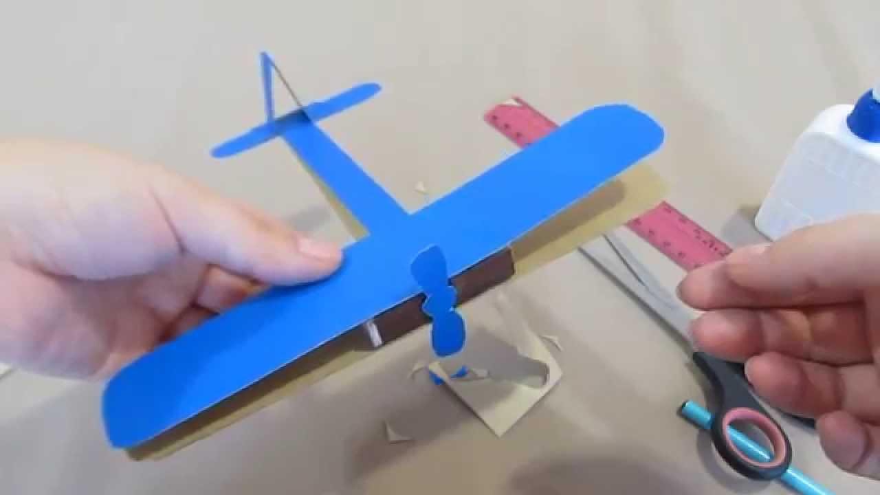Самолет по своими руками из бумаги 199