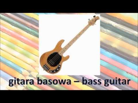 Pokoloruj Świat. Nauka Angielskiego Dla Dzieci - Instrumenty Muzyczne