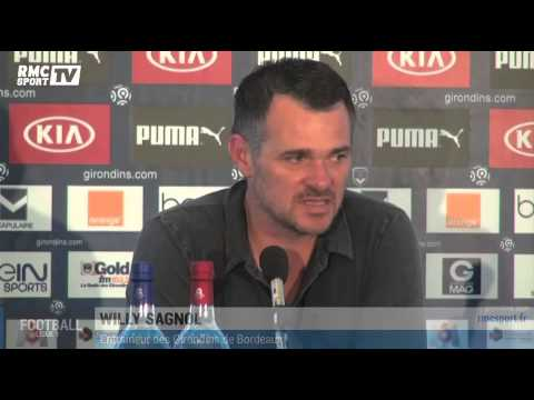Ligue 1 / Willy Sagnol parle de Claude Puel avant Nice-Bordeaux 22/08