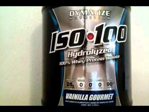 COMO TOMAR PROTEÍNA ISO 100