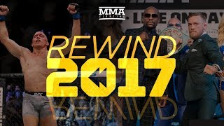 Rewind 2017 - MMA Fighting