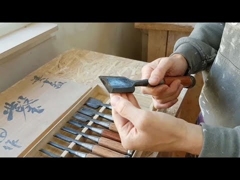 Why you need a set of Japanese Hattori chisels..... Don't miss