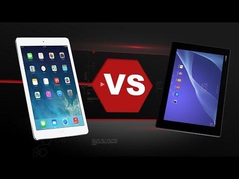 Xperia Z2 Tablet Vs. iPad Air