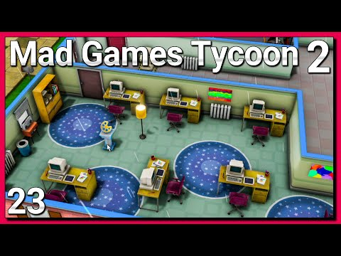 MAD Games Tycoon 2 ► ERSTES MMO Online 🎮 Spiele Entwickler Simulator [s10e23]