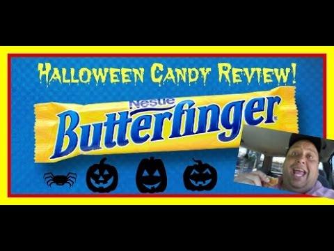 BUTTERFINGER®  Halloween Candy Review!!