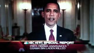 Barack Obama's Speech On Osama Bin Laden's Death May 1st 2011
