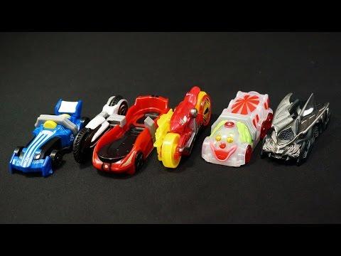 仮面ライダー ドライブ Sgシフトカー6 1 全5種 Kamen Rider Drive Sg Shift Car 6 1 video