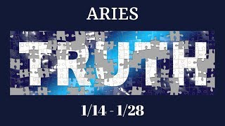 ARIES: The Harsh Truth 1/14 - 1/28