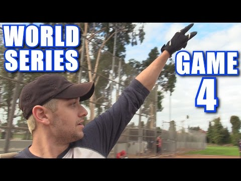WORLD SERIES GAME 4! | On-Season Softball Series