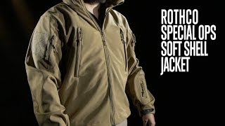Special Ops Tactical Soft Shell Jacket - Rothco Product Breakdown