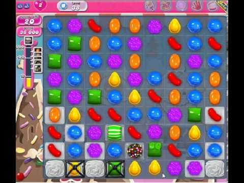 How to beat Candy Crush Saga Level 38 - 1 Stars - No Boosters - 74