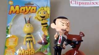 Mr Bean with Maya the bee