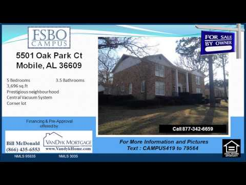 5 bedroom House for Sale near Olive J Dodge Elementary School in Mobile AL