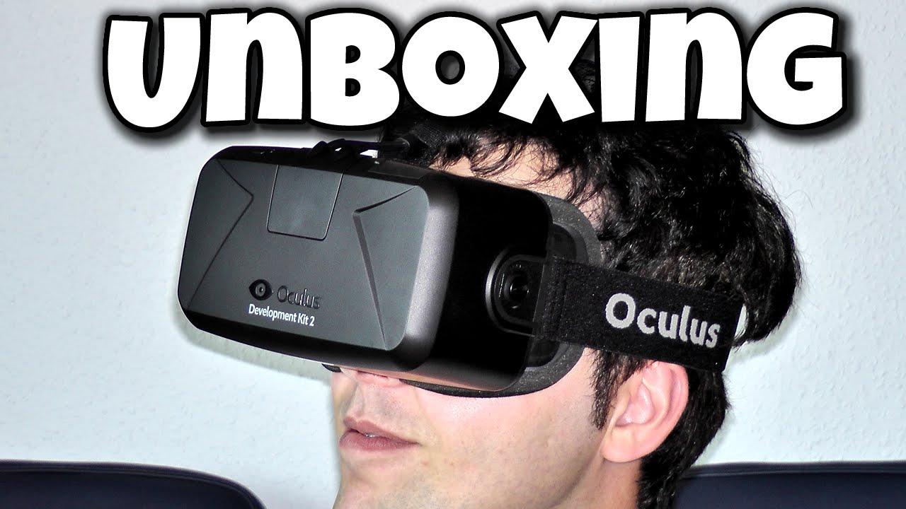 OCULUS RIFT DK2 - UNBOXING | DEBITOR - YouTube