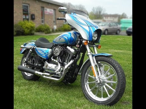 Progressive Suspension Monotube 2004 Sportster Front End Upgrade