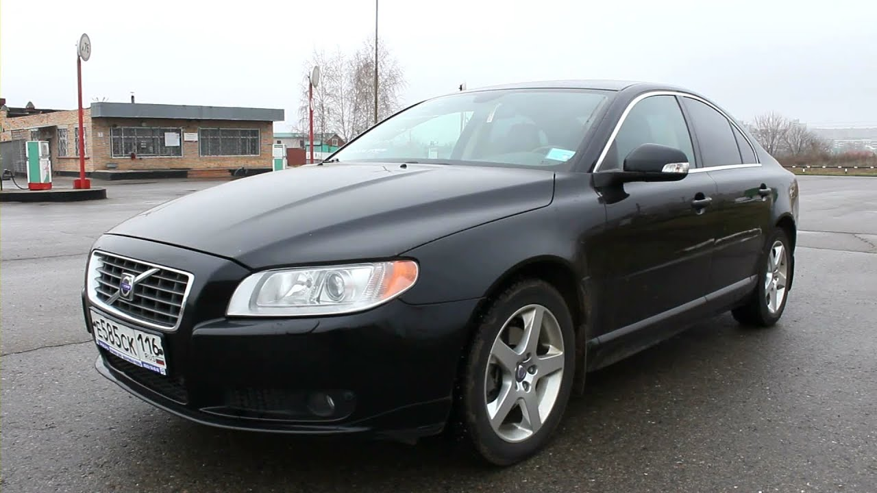 2008 Volvo S80. Start Up, Engine, and In Depth Tour. - YouTube