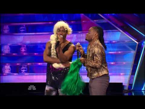 America's Got Talent 2014 - Auditions - Emmanuel & Phillip Hudson Audition video