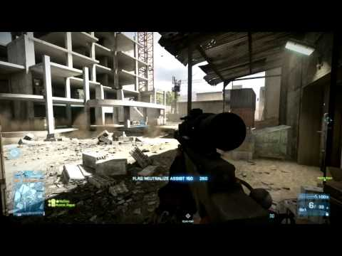 Battlefield 3: L96 Sniper Rifle: Quick Scoping is Back? Back to Karkand Gameplay