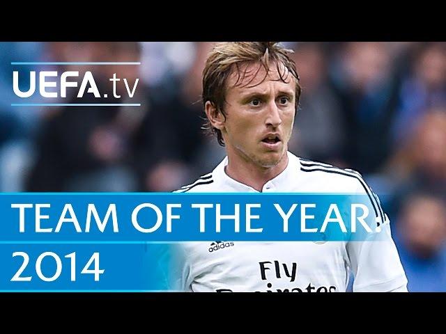 Luka Modrić: 2014 Team of the Year nominee