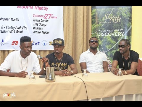 St. Kitts Music Festival Press Conference 26th June 2015