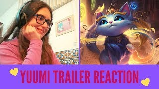 Yuumi the Magical Cat   NEW Champion Trailer REACTION   Melody Reacts [LoL]