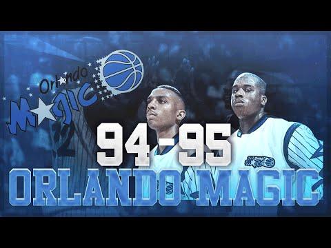 NBA 2K16 Rebuilding Historic Teams: The '94-'95 Orlando Magic!