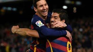 Rayo Vallecano Vs. Barcelona 1-5 All Highlights Goals Messi Hat-trick Goals   LigaBBVA 3-3-2016 [HD]