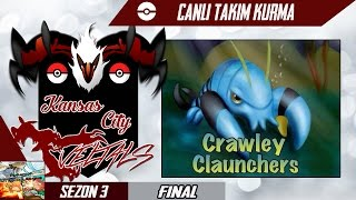 Pokemon Showdown Takım Kurma POL Final- Kansas City Yveltals Vs Crawley Claunchers