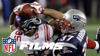 #1 David Tyree's Helmet Catch in Super Bowl XLII   Top 10 Greatest Catches of All Time   NFL