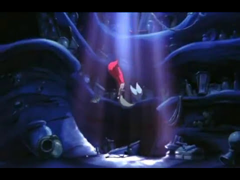 Ariel (La petite sirene) Partir la bas