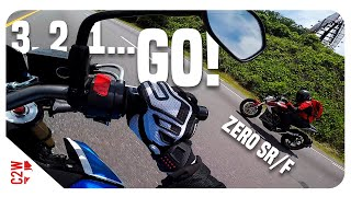 Zero SR/F vs GSXS 750 | Is it REALLY faster?