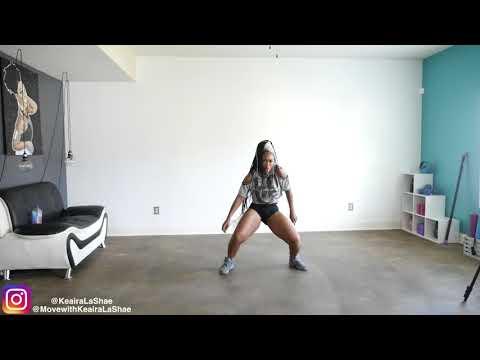 8 Minute EASY Dance Workout -Keaira LaShae