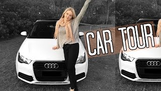 CAR TOUR | Whats in my Audi A1 ♡ Tobie Jean