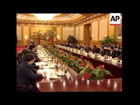 Prime Minister of Myanmar visits