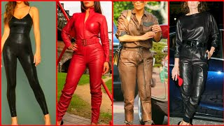 Most demanding leather jumpsuits ideas collection for girls -2020