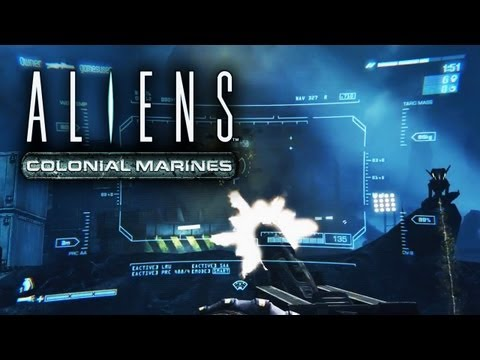 Aliens Colonial Marines Gameplay Review of Multiplayer Modes Xenomorph Walkthrough Xbox 360/PS3