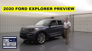 FIRST LOOK 2020 FORD EXPLORER PREVIEW
