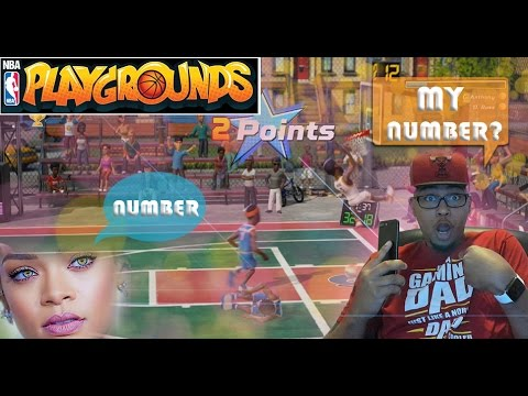 NBA PLAYGROUNDS - YOUR GIRLFRIEND WANT MY NUMBER - NBA PLAYGROUNDS GAMEPLAY TOURNAMENT