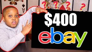 Unboxing A $400 Mystery Box From EBAY!
