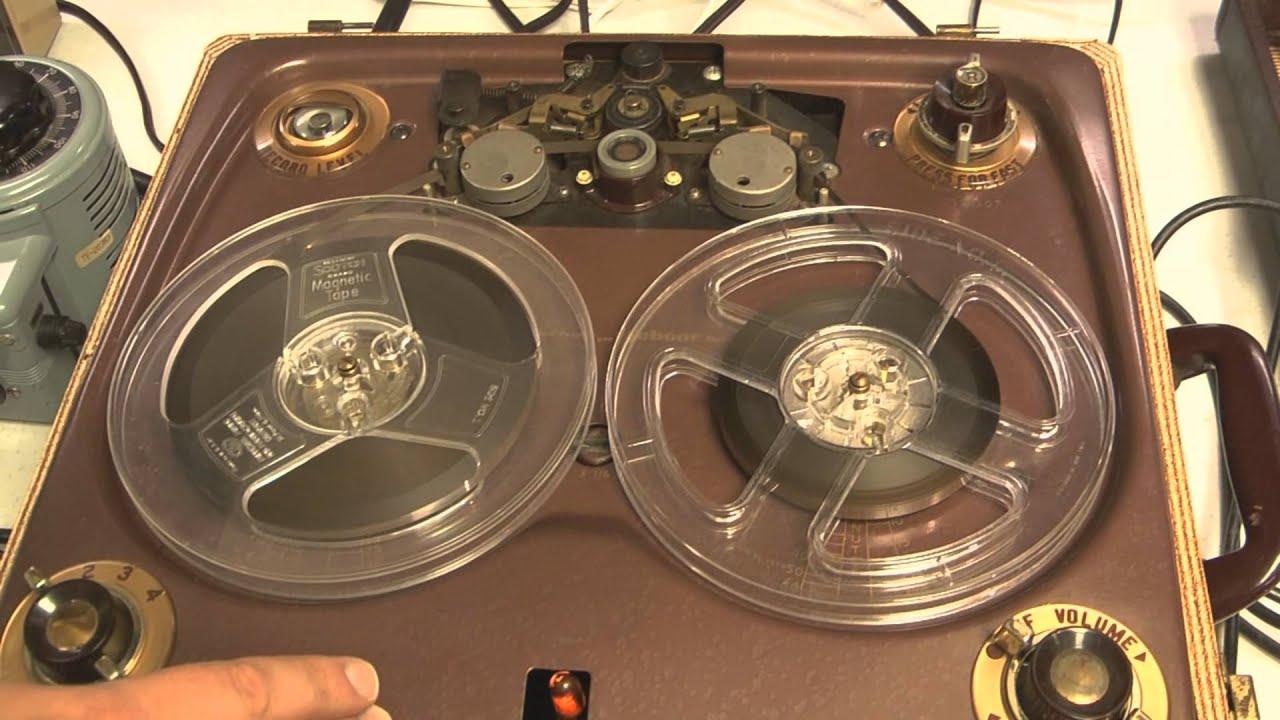 1953 Webcor Model 210 1 Reel-to-reel  Part 1