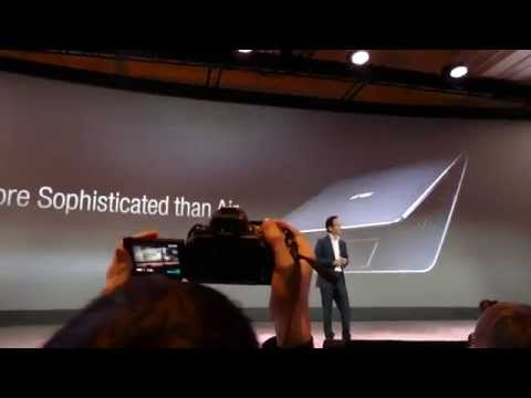 The new Asus Transformer Book Chi Series @ CES 2015